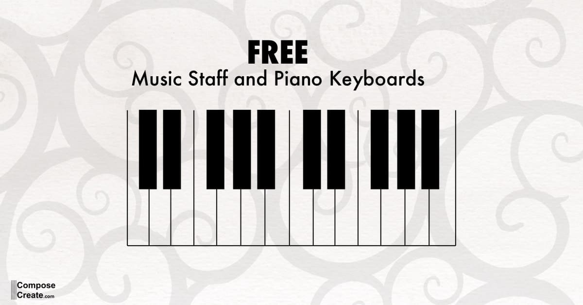 Piano Keyboard Pdf Piano And Keyboard Diagrams