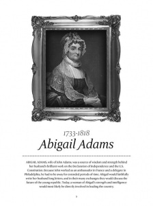 Abigal Adams Letters to Abigail by Wendy Stevens