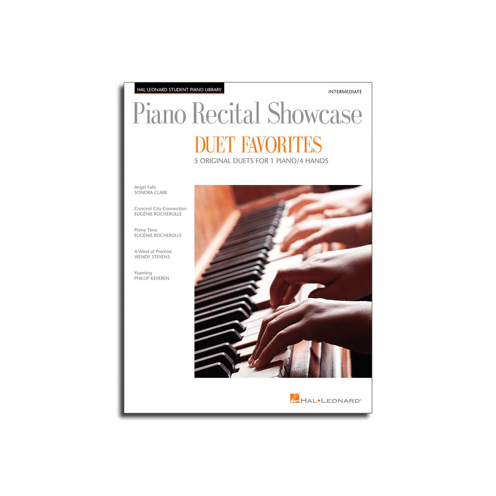 piano recital showcase duet