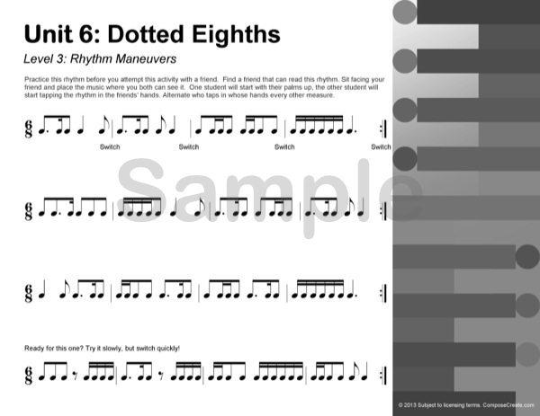 Rhythm Manipulations Reproducible rhythm worksheets – Rhythm Worksheets