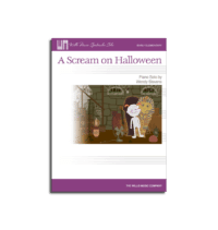 scream on halloween by wendy stevens