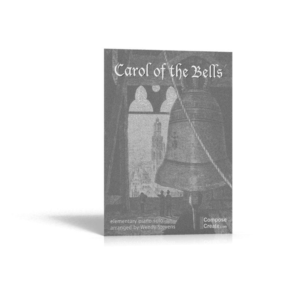 Intermediate Carol of the Bells piano music