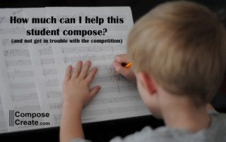 How much help is too much help for composing students? A helpful article on composecreate.com about help for composing students