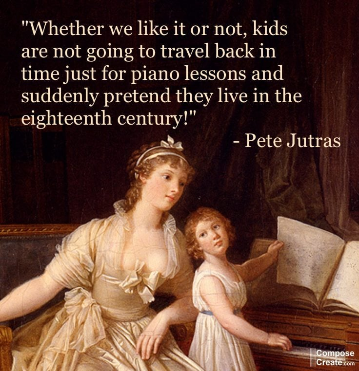 What is the future of piano teaching? An important interview with Pete Jutras | composecreate.com