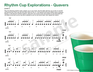International Rhythm Cup Explorations