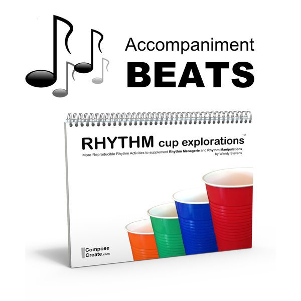 Rhythm Cup Explorations 1 Beats - fun accompaniment beats for the famous cup tapping book!