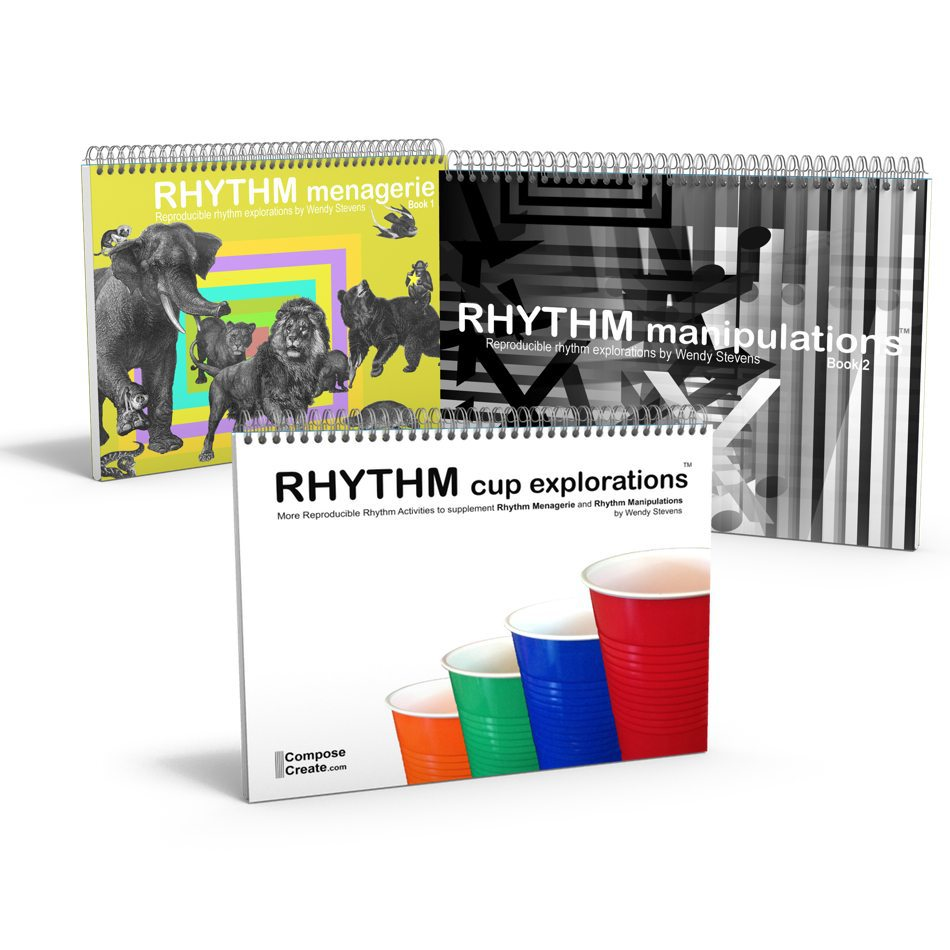 Rhythm Menagerie Manipulations Cup Explorations