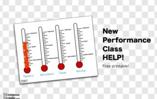 Performance class thermometers - teach active listening