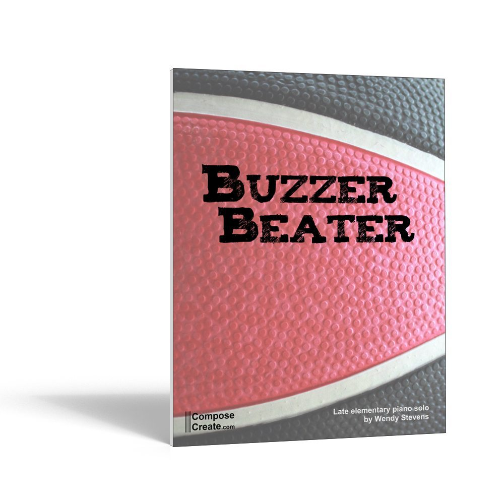 Buzzer Beater piano solo by Wendy Stevens