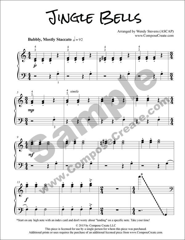 Amazing Jingle Bells Piano Chords Pictures Basic Guitar Chords For