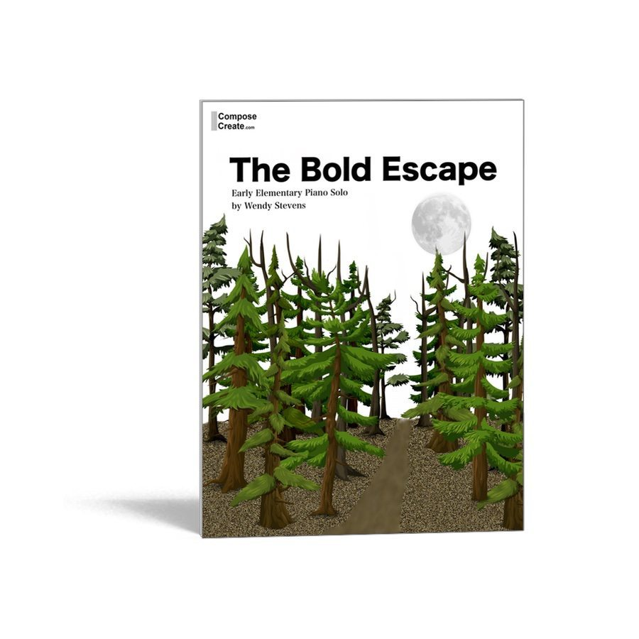 The Bold Escape easy elementary solo