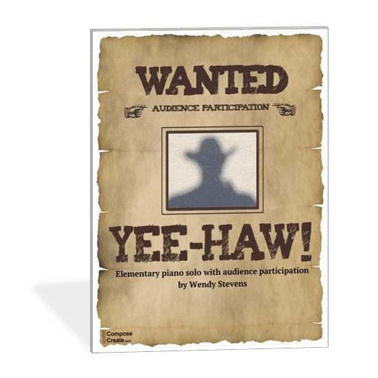 Yee-Haw - an audience participation piece by Wendy Stevens