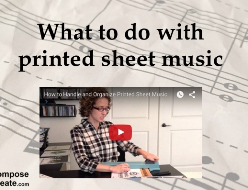 How to Preserve, Store, and Bind Printed Music – Plus FREE covers!