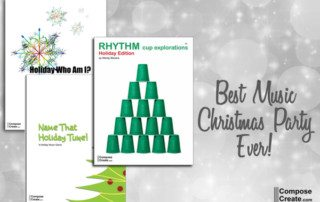 The Best Music Christmas Party Ever! Free holiday music games!