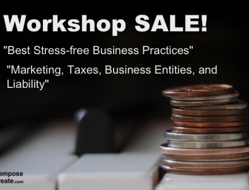 Piano Teaching Workshop SALE – Thanksgiving Black Friday Week!