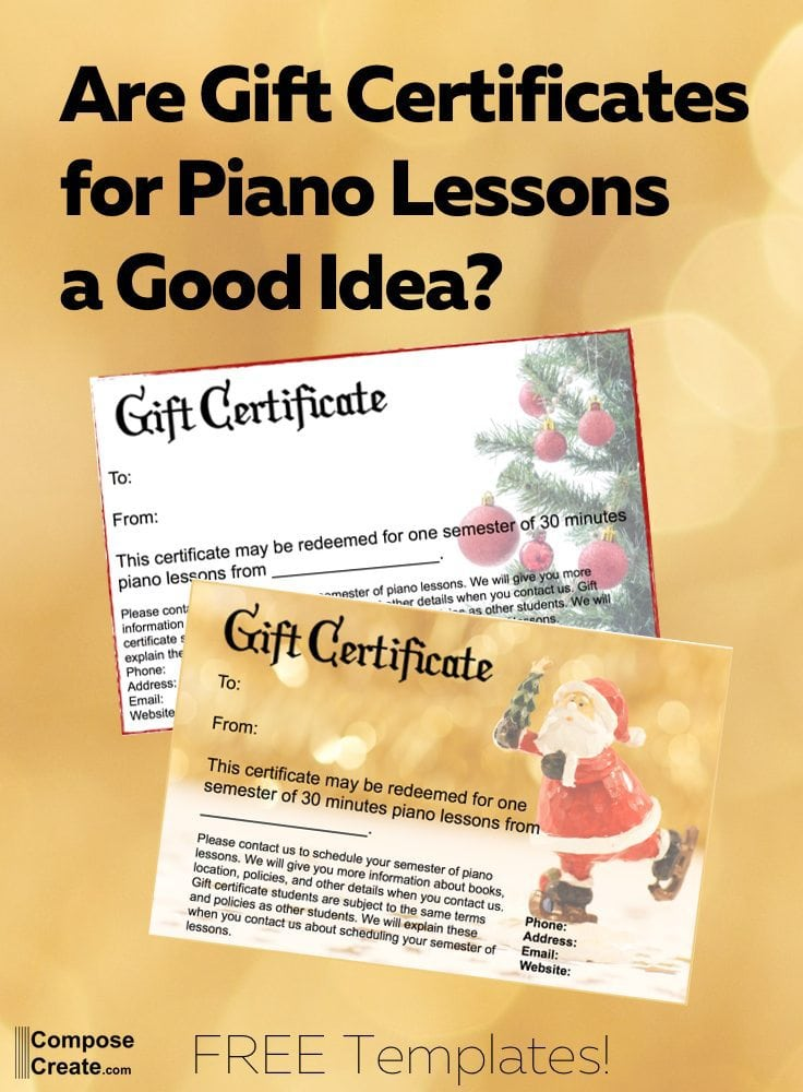 Are gift certificates for piano lessons a good idea gift certificates for piano lessons free download and lots of tips so it works well yelopaper Image collections