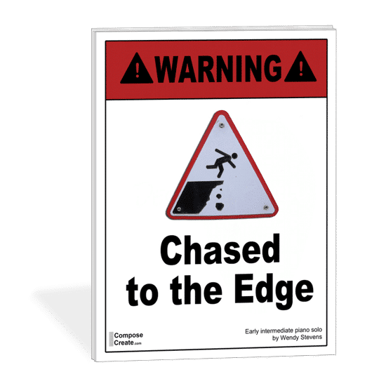 Chased to the Edge - a likely piece on your new spring recital program template!