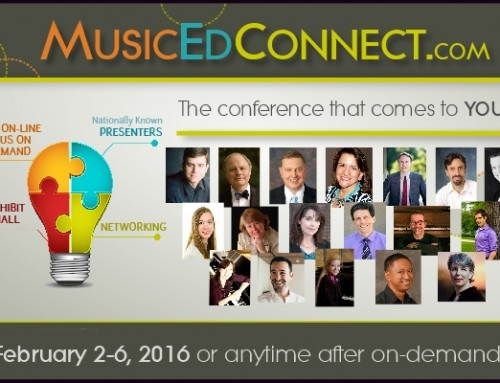Online Music Ed Connect Conference Coming – $25 Coupon!