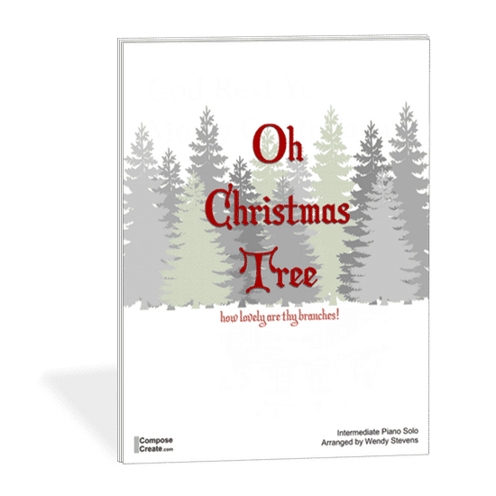 The Song Oh Christmas Tree: Oh Christmas Tree Intermediate Piano Solo