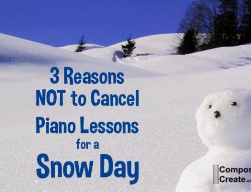 3 Reasons NOT to Cancel Lessons for Snow Days