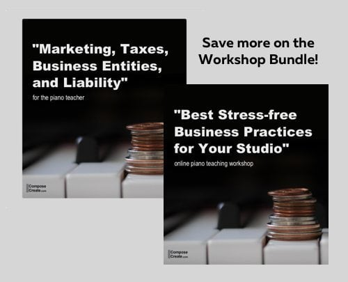 Marketing, Taxes, Business Entities, and Liability