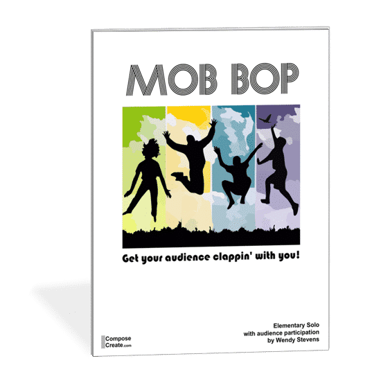 Mob Bop - a likely piece on your new spring recital program template!