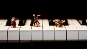 Teaching Skips - Monkey Music Theory Games for Elementary Students