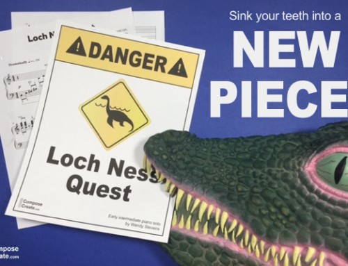 Eeeek! Loch Ness Quest – New Dramatic and Scary Piano Piece!
