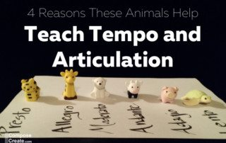 4 Reasons these animals help teach tempo and articulation. Apply this to all teaching. | composecreate.com