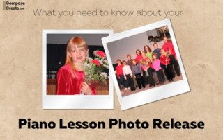 What you need to know about your piano lesson photo release (and video release) | composecreate.com