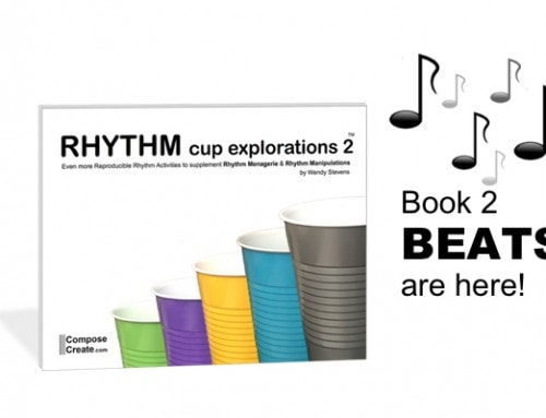 The Beats are Here! Rhythm Cup Explorations 2 Accompaniment Beats – Even More Energy!