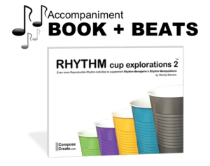 Rhythm Cup Explorations 2 Beats plus Book!