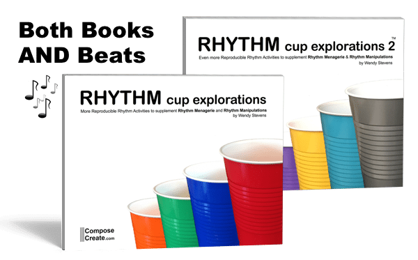Rhythm Cup Explorations by Wendy Stevens from composecreate.com