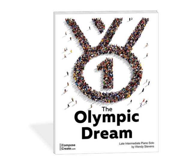 The Olympic Dream - late intermediate piano solo