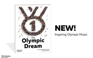 Inspiring Olympic piano music for late intermediate students!