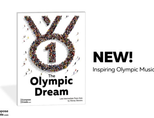 New Olympic Piano Piece!!! For Teacher and Late Intermediate Students
