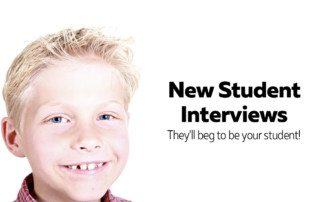 New piano student interviews - seal the deal