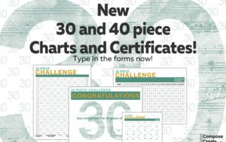 New 2016 30 piece challenge forms that you can type in!!! | composecreate.com