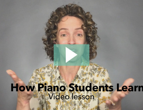How Piano Students Learn New Information – Video Lesson 1 and BIG Announcement!