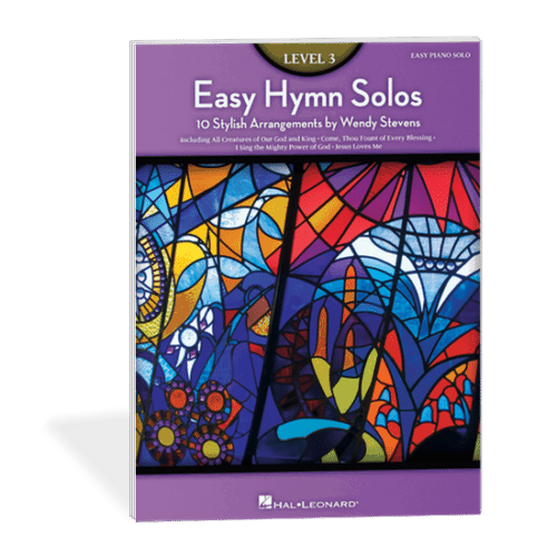 Easy Hymn Solos 3 - Early Intermediate arrangement that make you sound mature! by Wendy Stevens on ComposeCreate.com