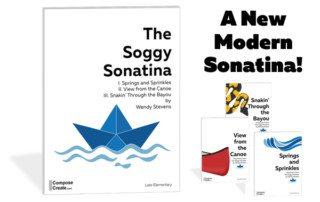"A New Modern Sonatina! Get your kids to say ""I love sonatinas!"" | composecreate.com"