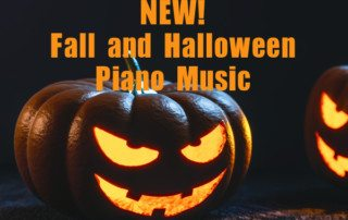 New halloween recital music from composecreate.com