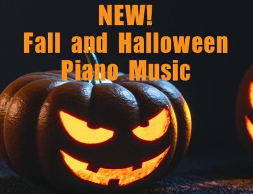 New Halloween Recital Music + New Fall Piano Music! – 7 pieces