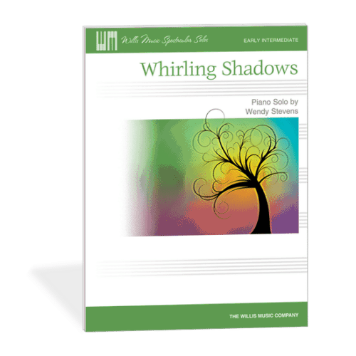 Fall Piano Teaching Ideas - Whirling Shadows - early intermediate halloween recital music by Wendy Stevens on ComposeCreate.com