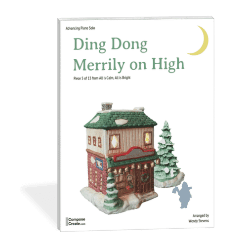 Ding Dong Merrily on High by Wendy Stevens from ComposeCreate.com