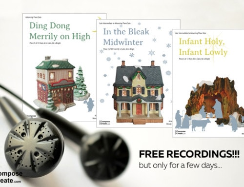 2016 All is Calm Release Party: FREE Holiday Piano Music!