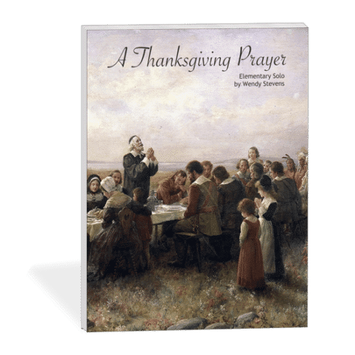 A Thanksgiving Prayer - Thanksgiving music for piano, voice, guitar from ComposeCreate.com