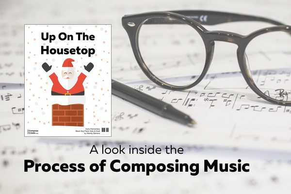 A look inside the process of composing music