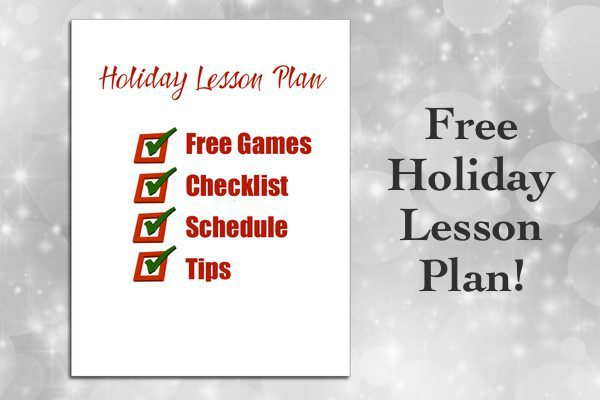 Free holiday music lesson plan!