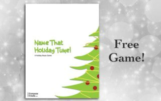 Free holiday group lesson plan!